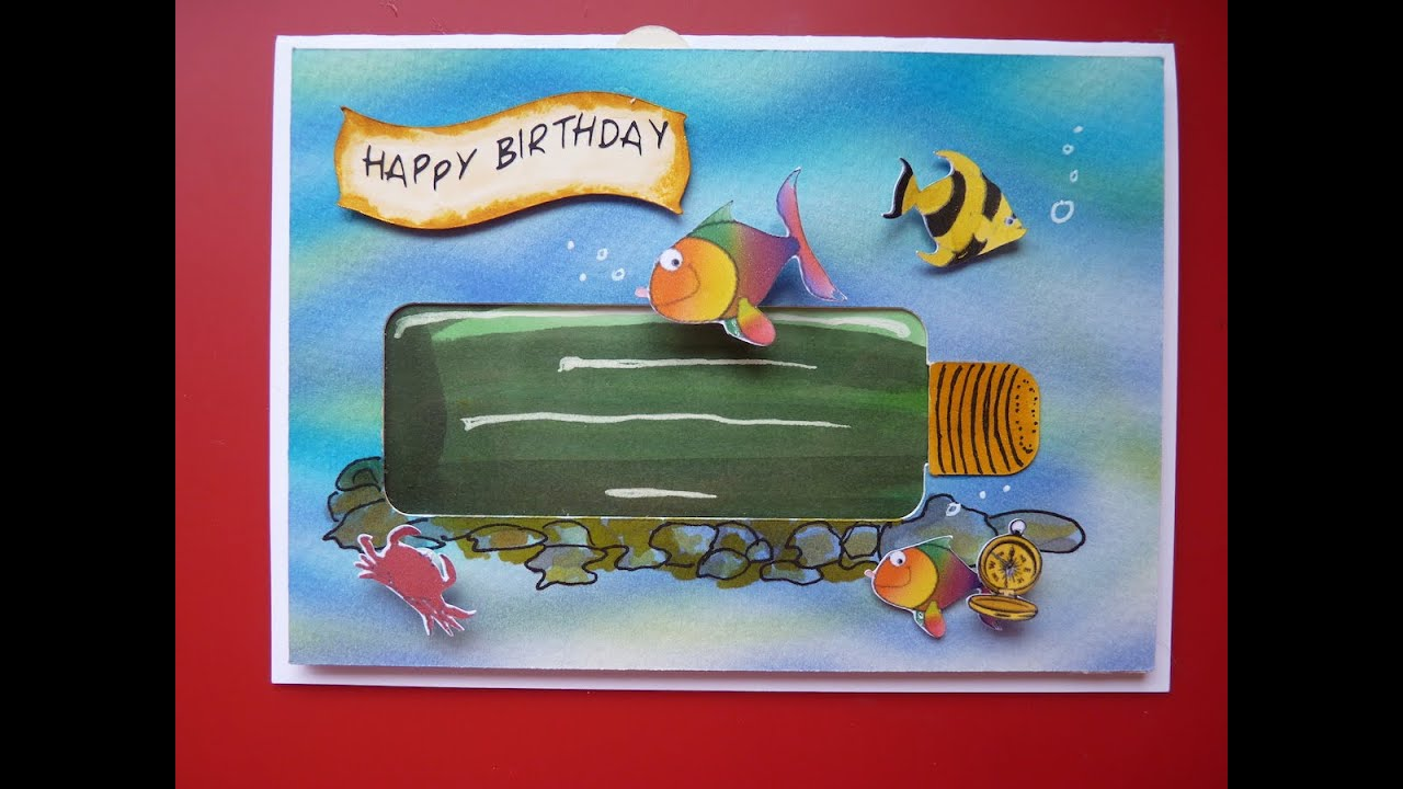 Interactive Birthday Card Under the Sea file inc YouTube – Interactive Birthday Card