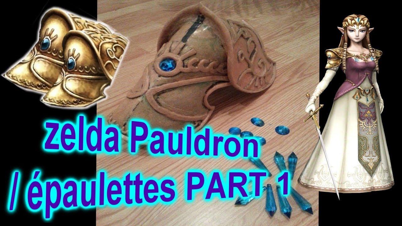 Princess Zelda Cosplay Pauldron Part 1 Epaulette Zelda Twilight