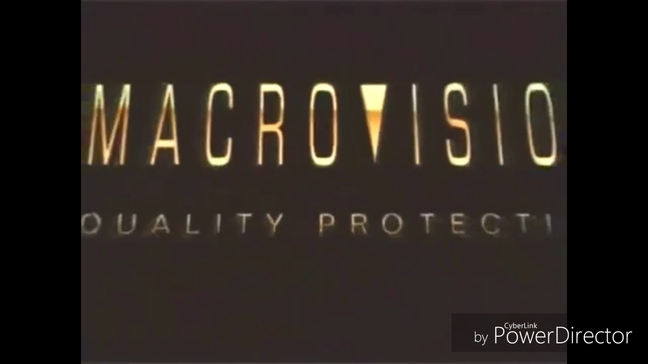 Macrovision Quality Protection Logo Low Pitch Youtube