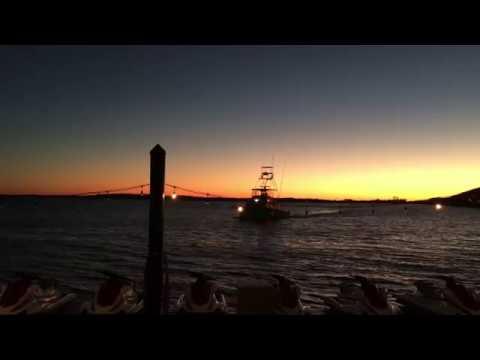 Harbor Boardwalk At Night - 4K New IPad