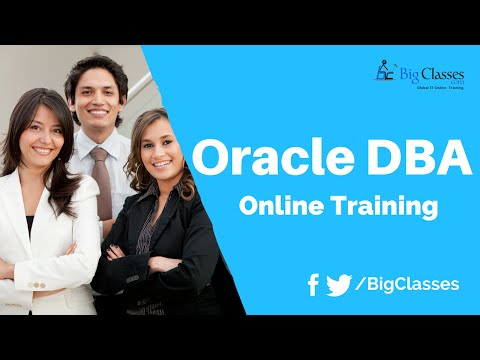 Oracle DBA 12c Training Videos - Oracle DBA Tutorial for Beginners - BigClasses