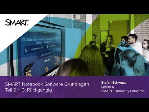 Rückgängig: Grundlagen Teil 9/10 - SMART Notebook Software