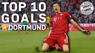 Top 10 Goals vs. Borussia Dortmund   FC Bayern