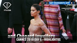 Sara Sampaio and Kendall Jenner in Highlights from Cannes Film Festival 2018 Day 5 | FashionTV | FTV