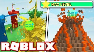 REACHING NEW MAX LEVEL 55 in DESTRUCTION SIMULATOR!! *NEW AREA UPDATE!* (Roblox)