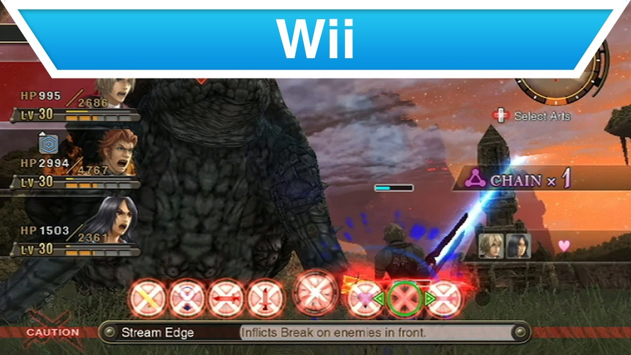 Wii - Xenoblade Chronicles How to Play Video -- Part 4