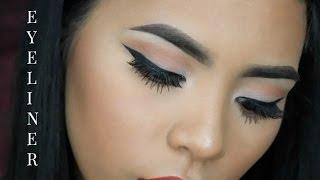 wing liner tutorial   how to make your eyeliner on fleek   leeannjarrell