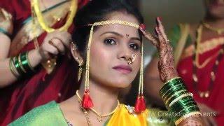 MARATHI WEDDING CINEMATOGRAPHY | DARSHANA WEDS SANTOSH