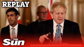 PM Boris Johnson and Chancellor Rishi Sunak coronavirus daily briefing - LIVE