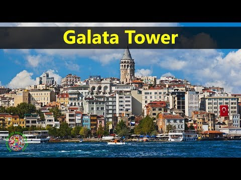 Best Tourist Attractions Places To Travel In Turkey | Galata Tower Destination Spot
