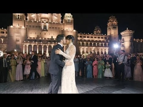 Priyanka Chopra And Nick Jonas Romantic Wedding Dance In Front Of Parents After Wedding At Jodhpur Mp3