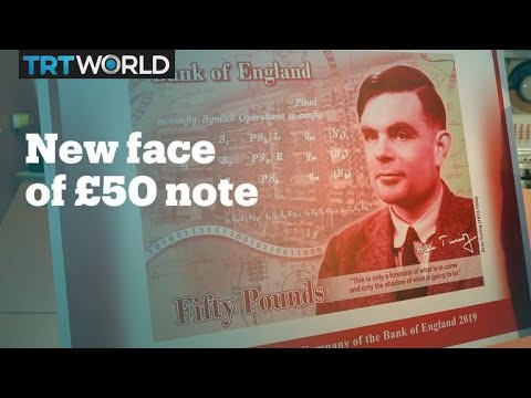 Alan Turing to feature on England's £50 banknote