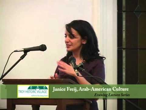 Lecture - Arab American Culture