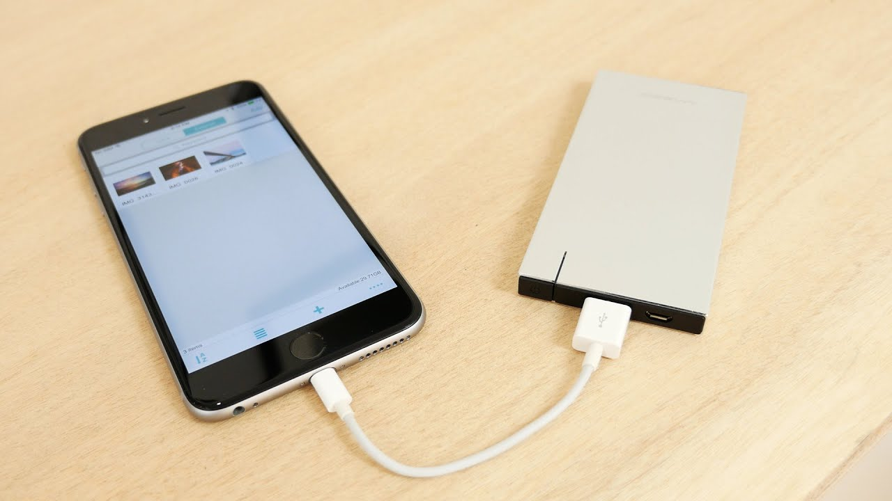 external hard drive for iphone powerdrive slim review an external battery and drive 16903