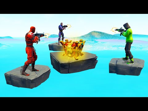 Get The LEGENDARY LOOT To WIN! (Fortnite Skywars)
