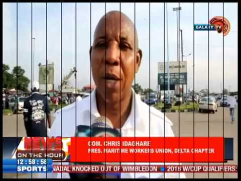 News On the hour: Maritime workers shut Delta ports