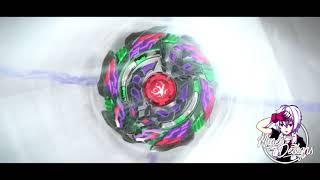 Beyblade Burst God AMV  l  Black & White  l  Ark Bahamut vs Shelter Regulus