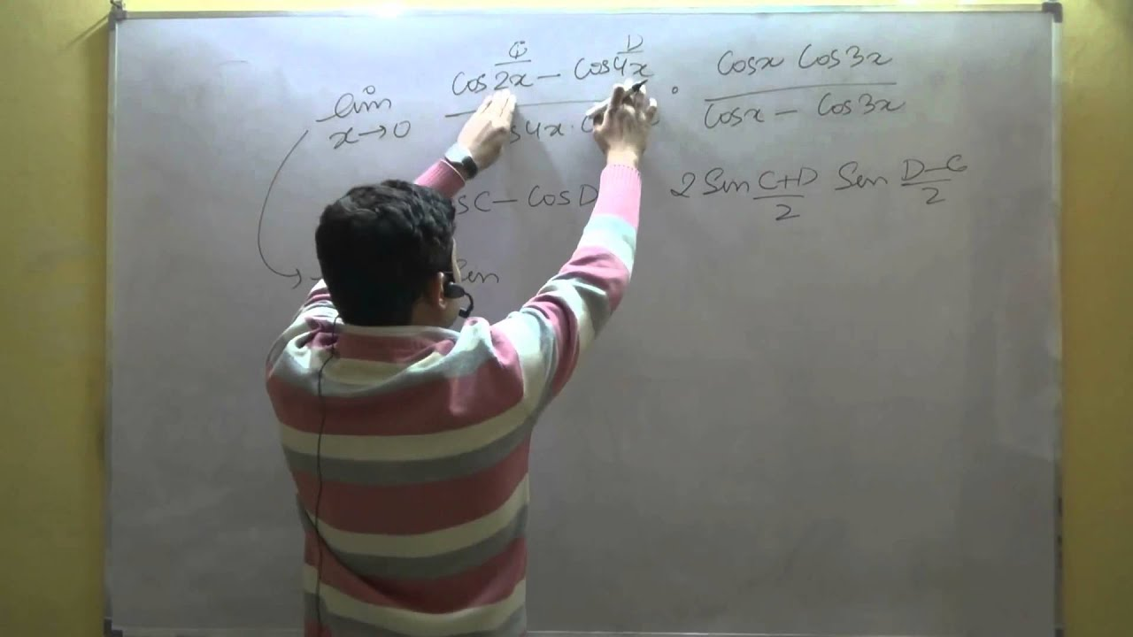 Class 11 Maths CBSE Limits Trigonometric Limits Part 2