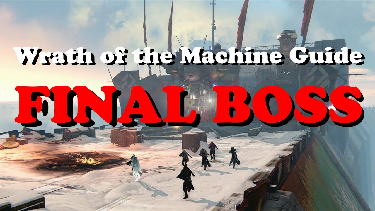 wrath of the machine raid guide