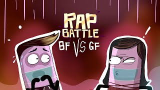 RAP BATTLE: BF VS GF (Pinoy animation) -Raronesc