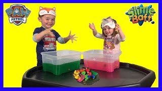 Paw Patrol Pups in the Slime Baff! Super Fun game for kids! With Chase, Marshall, Skye, Rubble!