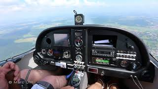 Zephyr ATEC 2000 - Cockpit Flight - Checking the systems and performance