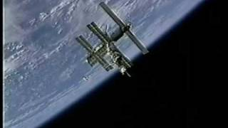 UFO Flies Over Russian Space Station Mir
