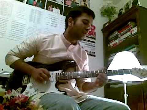 Ovvoru Pookalume(Guitar Solo) - Shebin K. George