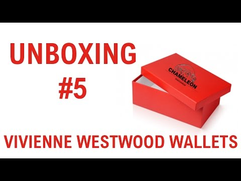 Unboxing #5 Vivienne Westwood SS16 Wallets