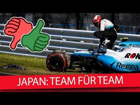Team für Team: Tops & Flops aus Japan – Formel 1 2019 (News)