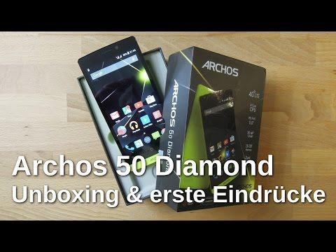 Archos 50 Diamond Unboxing und erste Eindrücke - www.technoviel.de