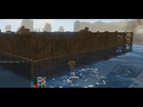 Archeage : Building a Galeon and Stealing a merchant schooner!