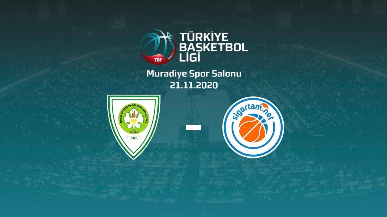 Manisa Büyükşehir Belediye Spor – Sigortam.Net TBL 6.Hafta