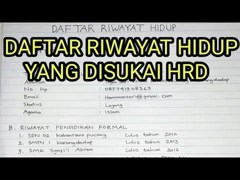 CARA BUAT LAMARAN KERJA VIA EMAIL PDF I TERBARU Di video kali ini kita ngebahas bagaimana CARA BUAT .