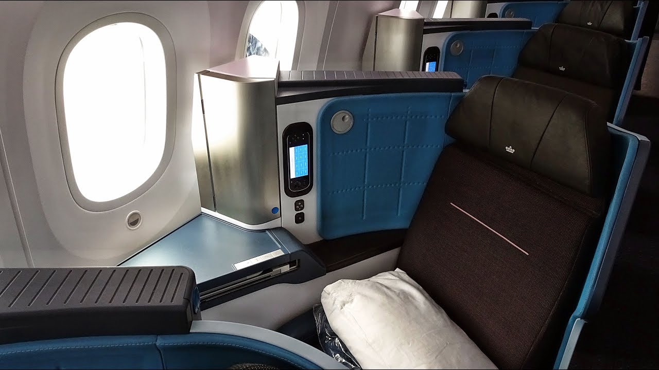 KLM's 787 WORLD BUSINESS CLASS | AMSTERDAM-DULLES | BOEING 787-9