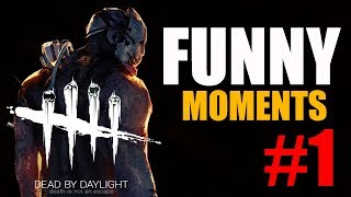 Dead by daylight funny moments - CAKE!!!!