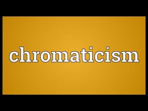 Header of chromaticism