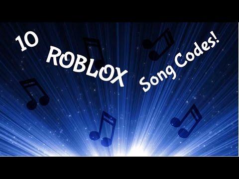 10 ROBLOX song codes