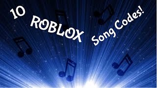 10 ROBLOX song codes (old)