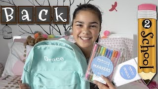 Back to School Routine | What's in My Backpack