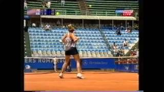 Mary Pierce vs Marie-Gaiane Mikaelian Italian Open 2002 NEW