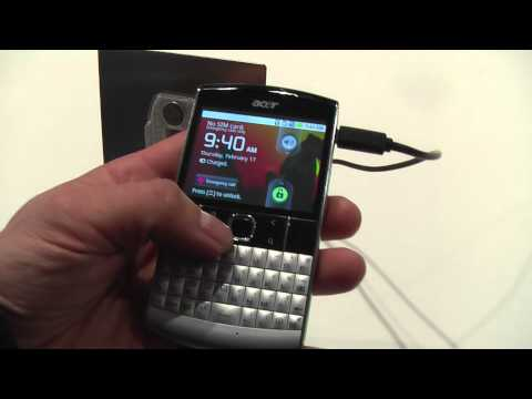 PDAclub.pl: Acer beTouch E210 hands-on