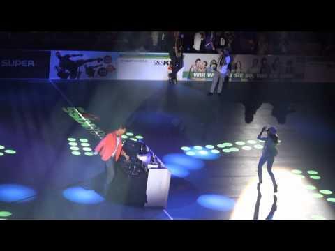 DJ Antoine Live Performance Konzert - Kiss Cup 2012 Max Schmeling Halle