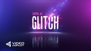 Colorful Glitch FX Tutorial 100 After Effects