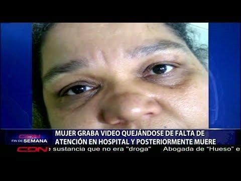 SNS informa profundiza investigación sobre señora grabó video y luego falleció