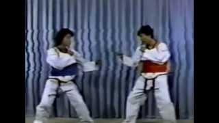 1980s WTF korea national team training taekwondo