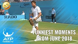 Funniest Moments & Fails from June: 2018 ATP Season