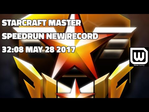 Starcraft Master SPEEDRUN