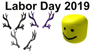 BIGHEAD AND ANTLERS CONFIRMED TO COME DURING ROBLOX LABOR DAY SALE 2019