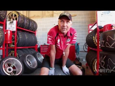 HRT Meet the Team: Kenny, HRT Tyre Specialist